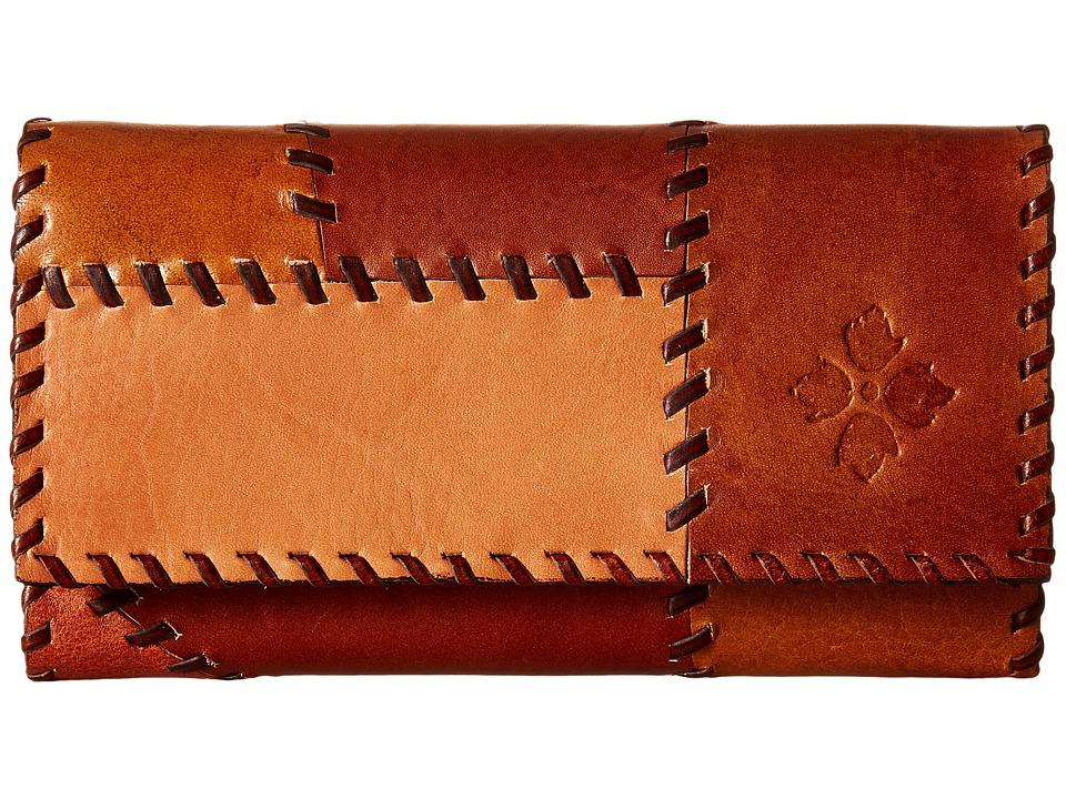 Patricia Nash - Terresa Wallet (Patchwork Tan) Wallet Handbags