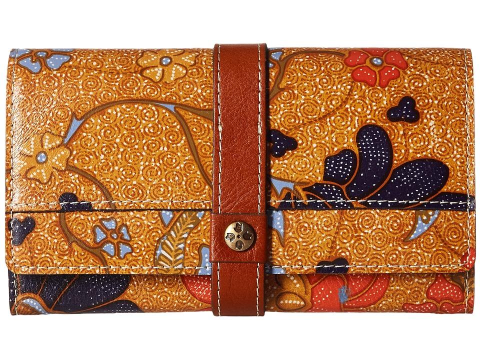 Patricia Nash - Murcia Wallet (Exotic Island Gold) Wallet Handbags