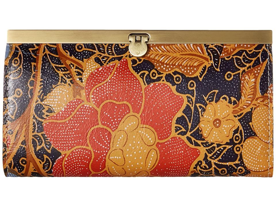 Patricia Nash - Cauchy (Exotic Island Midnight) Clutch Handbags