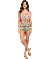 Luli Fama - Boho Chic T-Back Romper Cover-Up