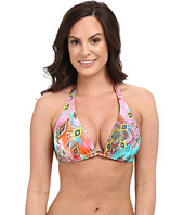 Luli Fama - Boho Chic D/DD Cup Triangle Halter Top