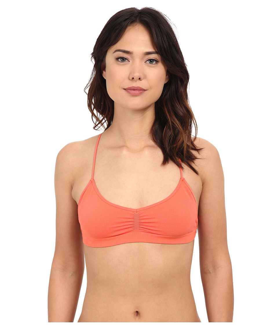 Free People Strappy Back Bra Tangerine Womens Bra