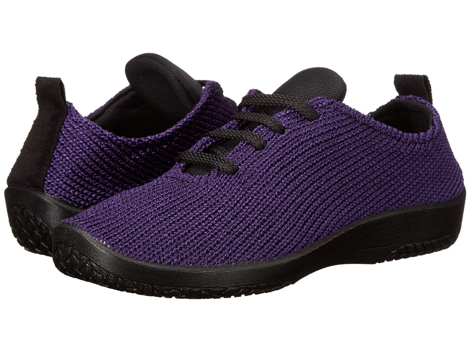 Arcopedico - LS (Plum) Women's Lace up casual Shoes