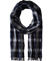 John Varvatos Star U.S.A. - Plaid Scarf