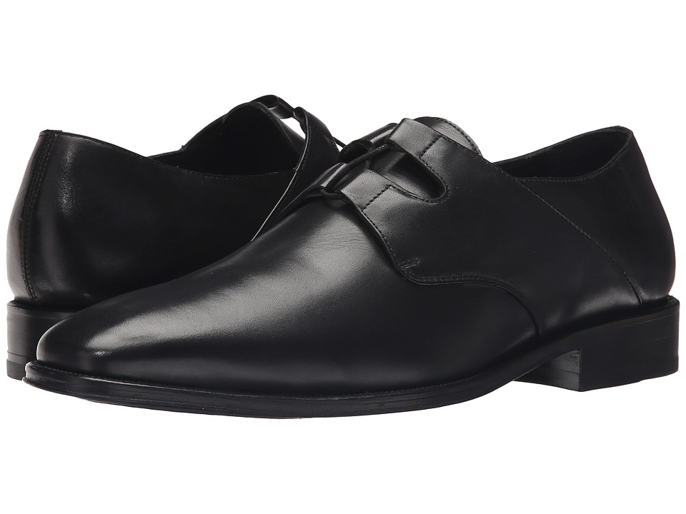 Messico Liceo Black Leather Mens Shoes