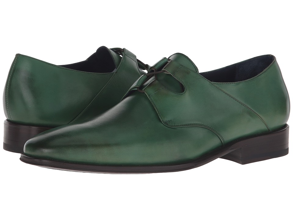 Messico Liceo Burnished Olive Leather Mens Shoes