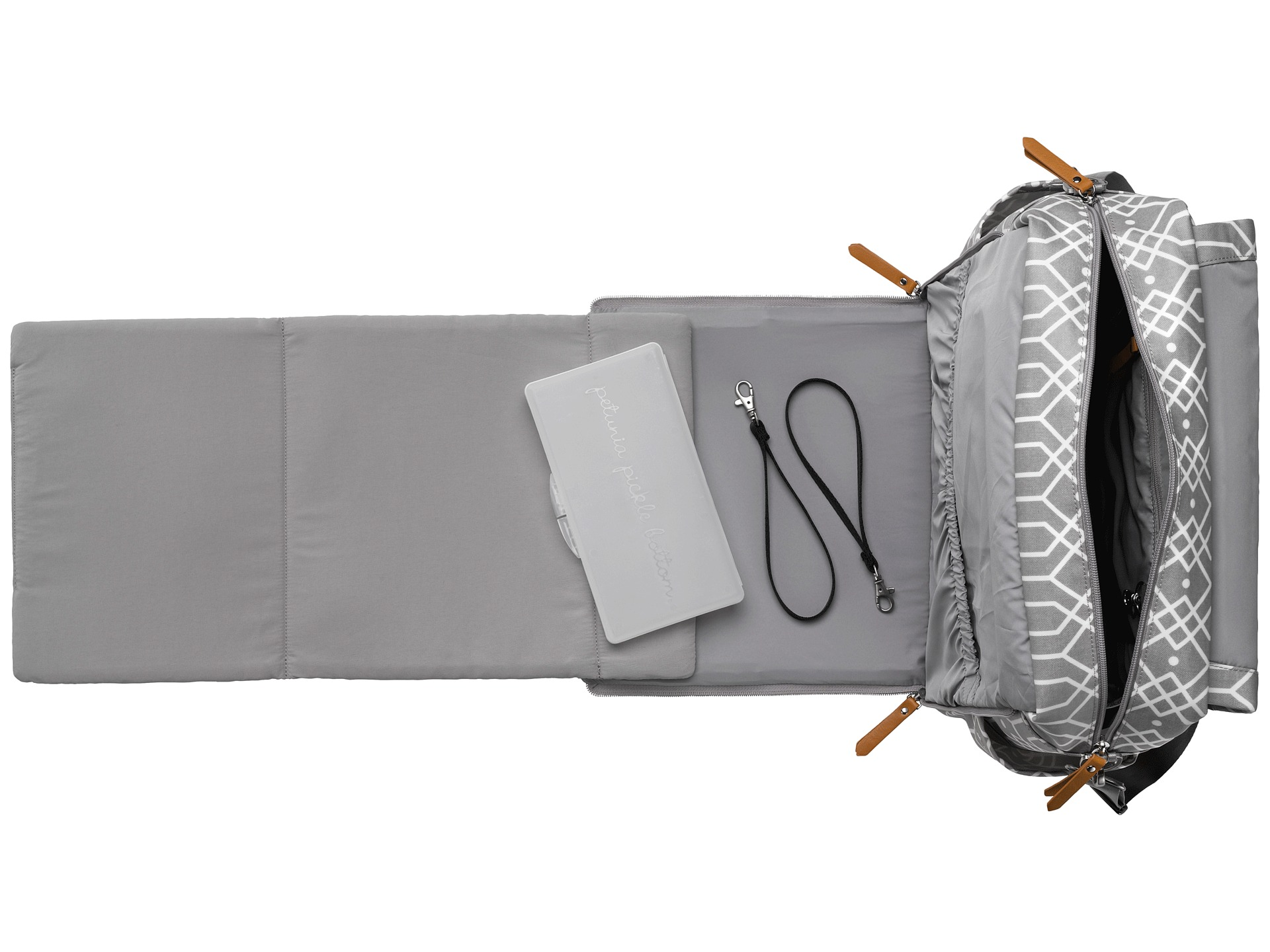 petunia pickle bottom glazed boxy backpack at. Black Bedroom Furniture Sets. Home Design Ideas