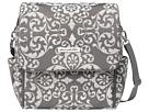 petunia pickle bottom Chenille Boxy Backpack (Earl Grey 1)