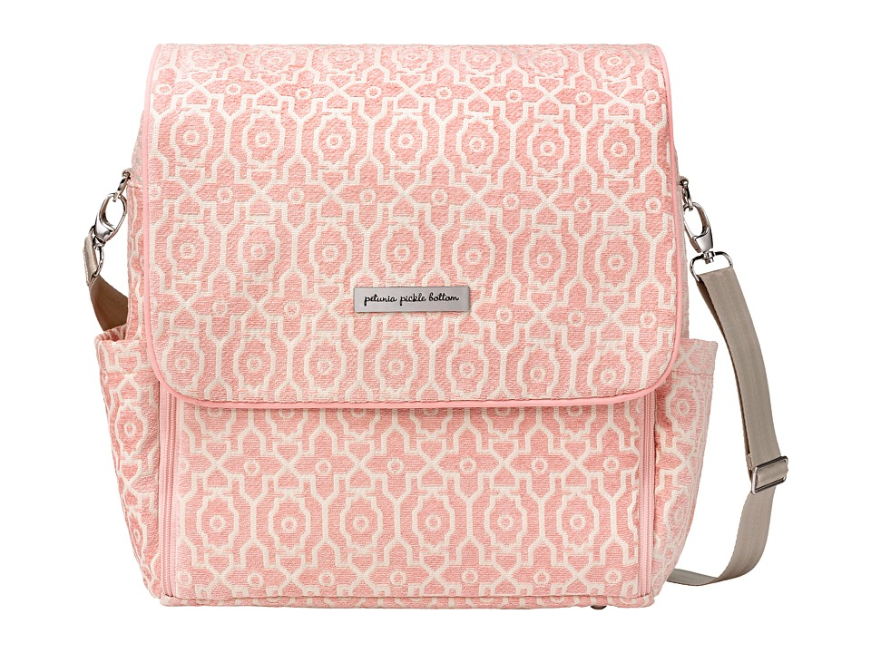 petunia pickle bottom Chenille Boxy Backpack Sweet Rose 1 Diaper Bags