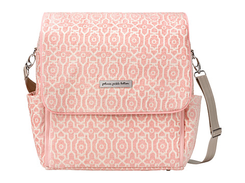 petunia pickle bottom Chenille Boxy Backpack