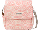 petunia pickle bottom Chenille Boxy Backpack (Sweet Rose 1)