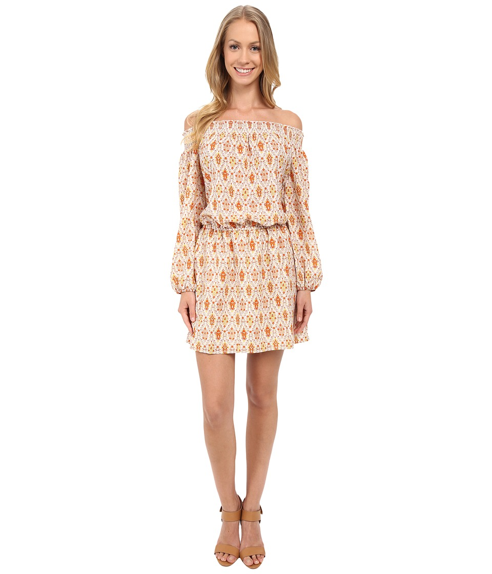 Sanctuary Elle Boho Dress Field Peasant Womens Dress