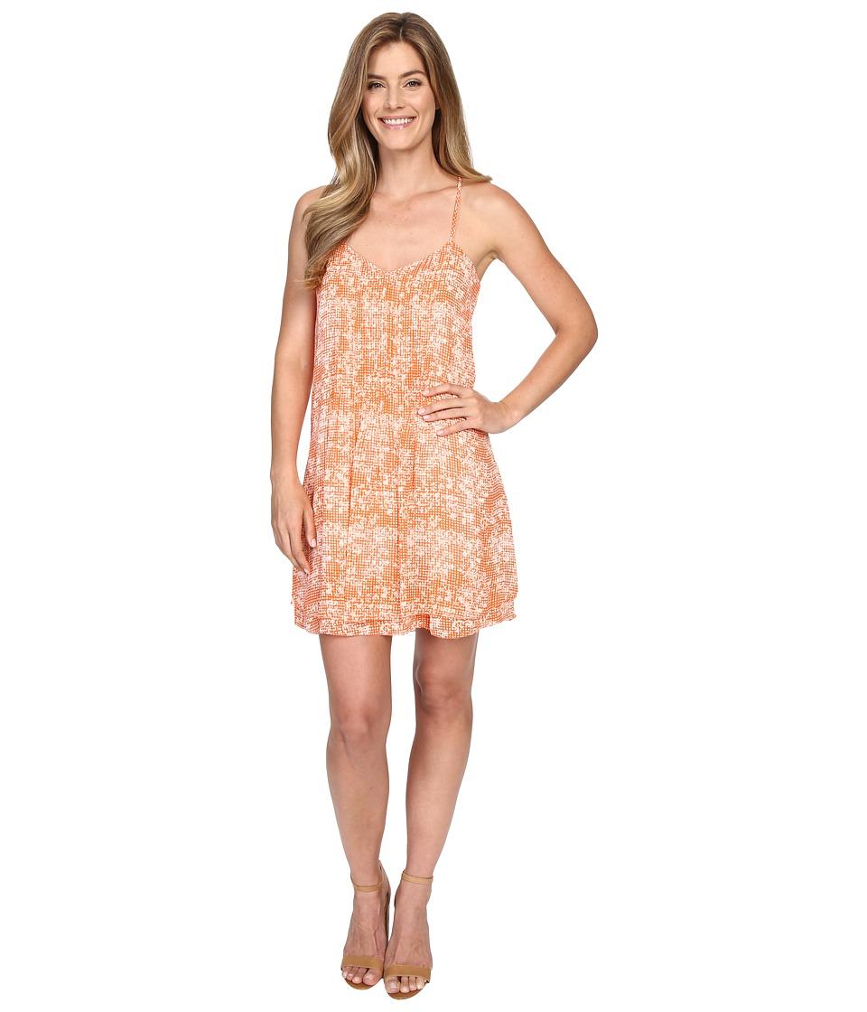 Sanctuary Spring Fling Dress Orange Gingham Womens Dress