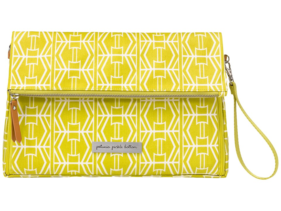 petunia pickle bottom - Glazed Crossover Clutch (Electric Citrus) Clutch Handbags