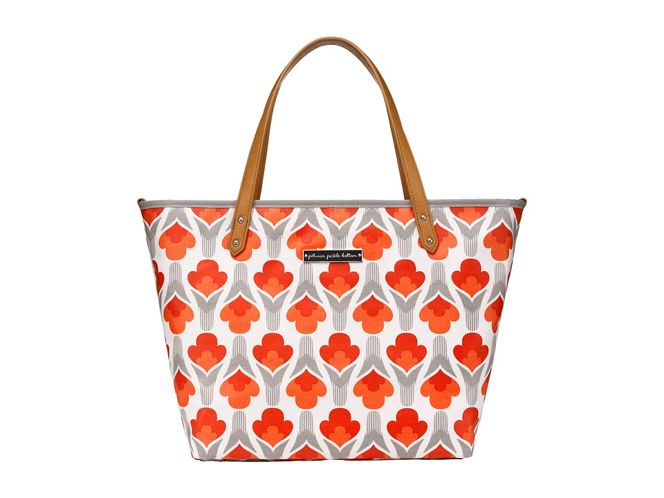 petunia pickle bottom - Glazed Downtown Tote (Brittany Blooms) Tote Handbags