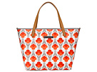 petunia pickle bottom Glazed Downtown Tote (Brittany Blooms)