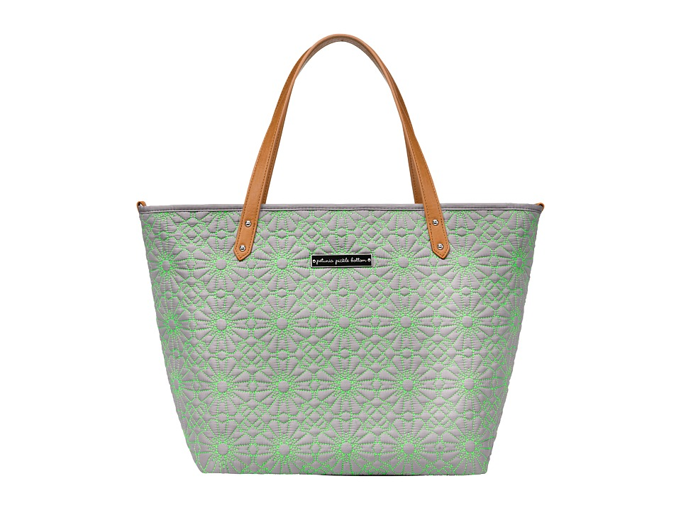 petunia pickle bottom - Embossed Downtown Tote (Covent Garden Stop) Tote Handbags