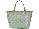 petunia pickle bottom Embossed Downtown Tote (Covent Garden Stop)