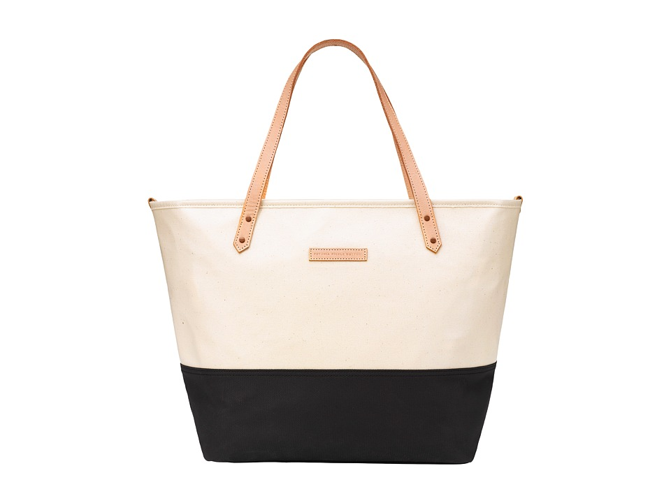 Petunia Pickle Bottom Glazed Color Block Downtown Tote (B...