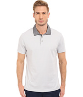 Perry Ellis - Pique Polo with Woven Collar