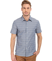 Perry Ellis - Horizontal Textured Stripe Shirt