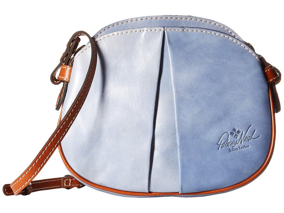 Patricia Nash - Chania Crossbody (Medium Blue) Cross Body Handbags
