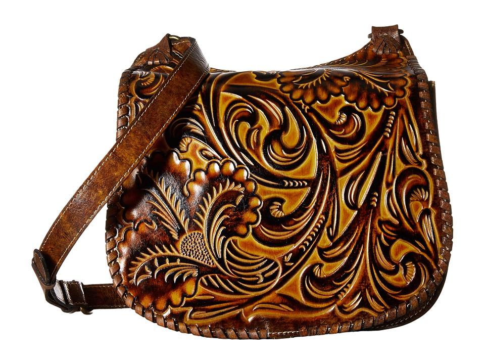Patricia Nash - Borghetto Braided Saddle Bag (Tuscan) Handbags