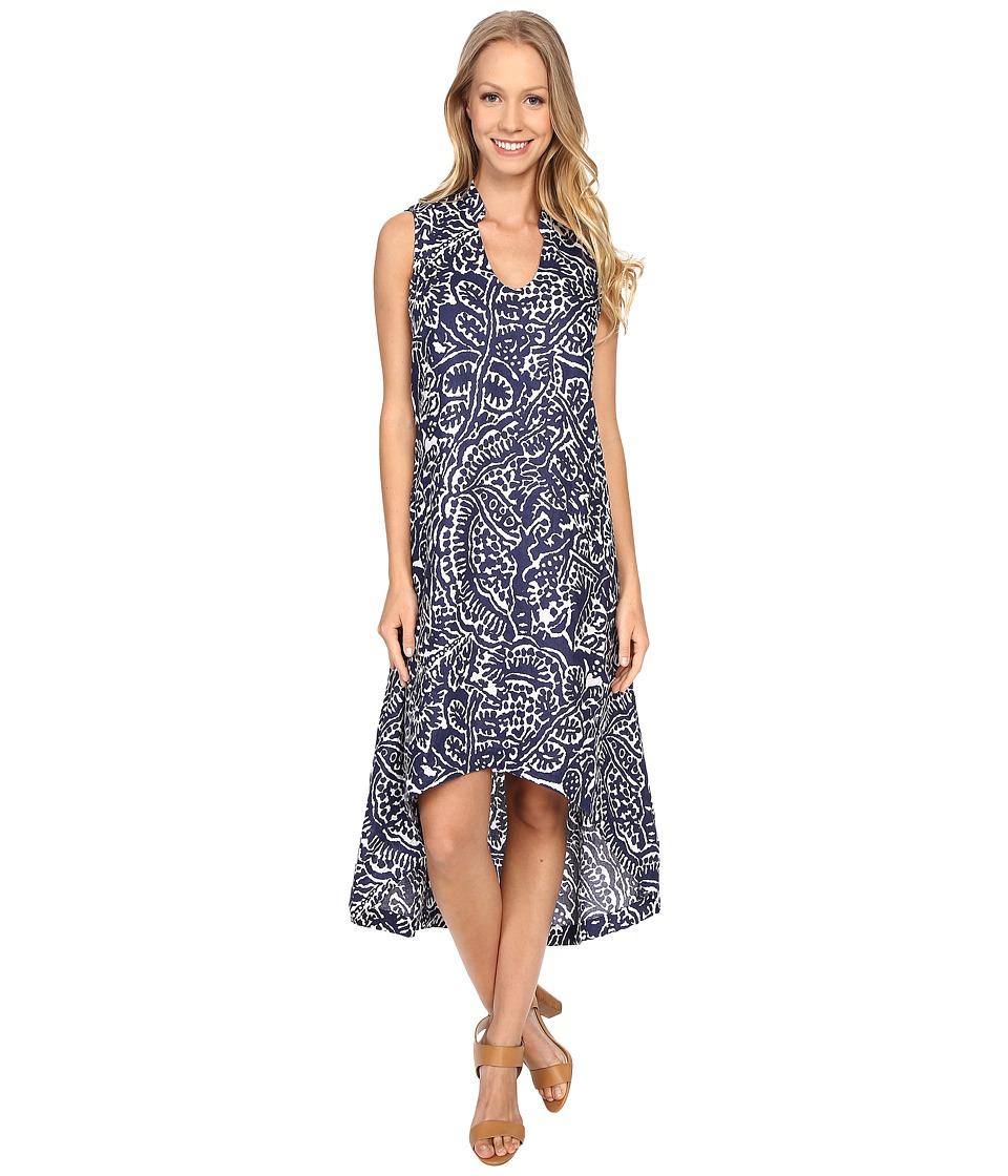NICZOE Seacoast Linen Dress Abyss Womens Dress