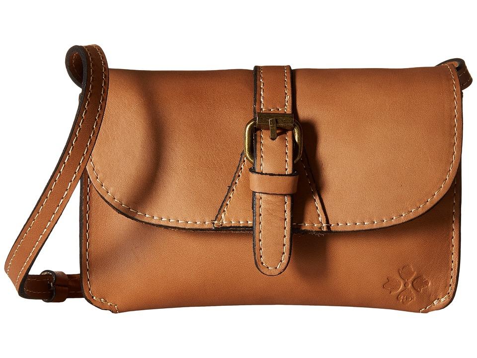 Patricia Nash - Torri Crossbody (Wheat) Cross Body Handbags