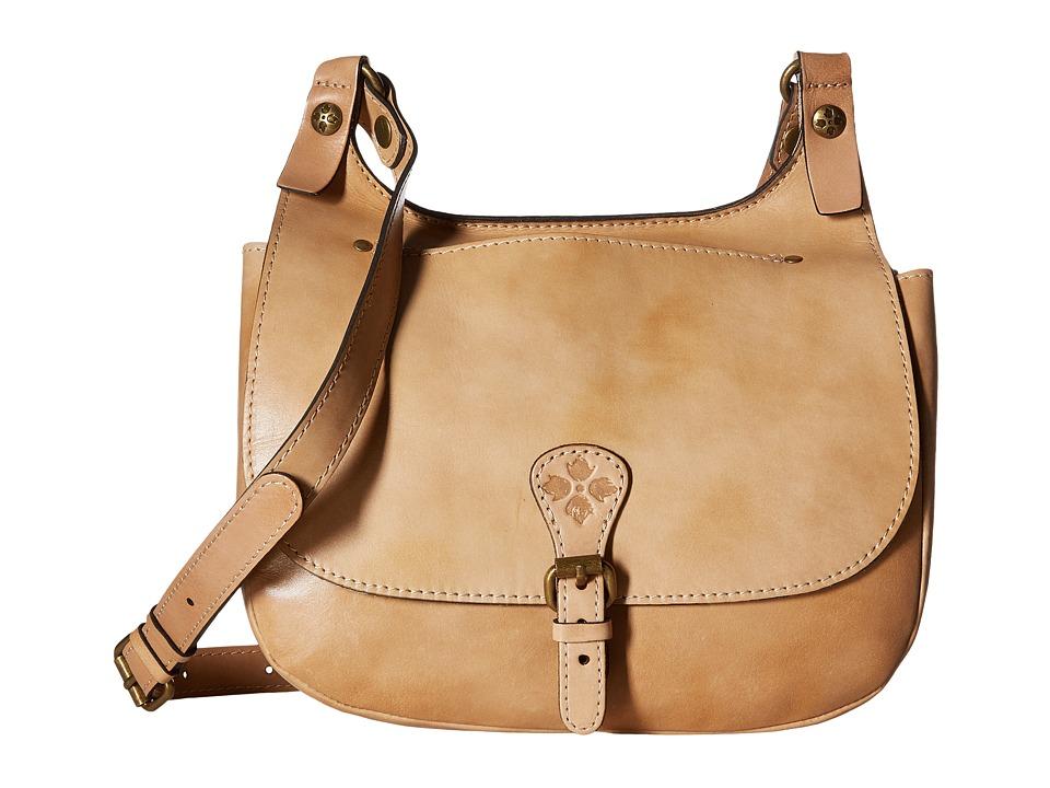Patricia Nash - London Saddle Bag (Wheat) Handbags