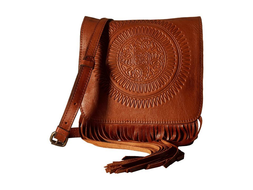 Patricia Nash - Granada Crossbody (Tan) Cross Body Handbags