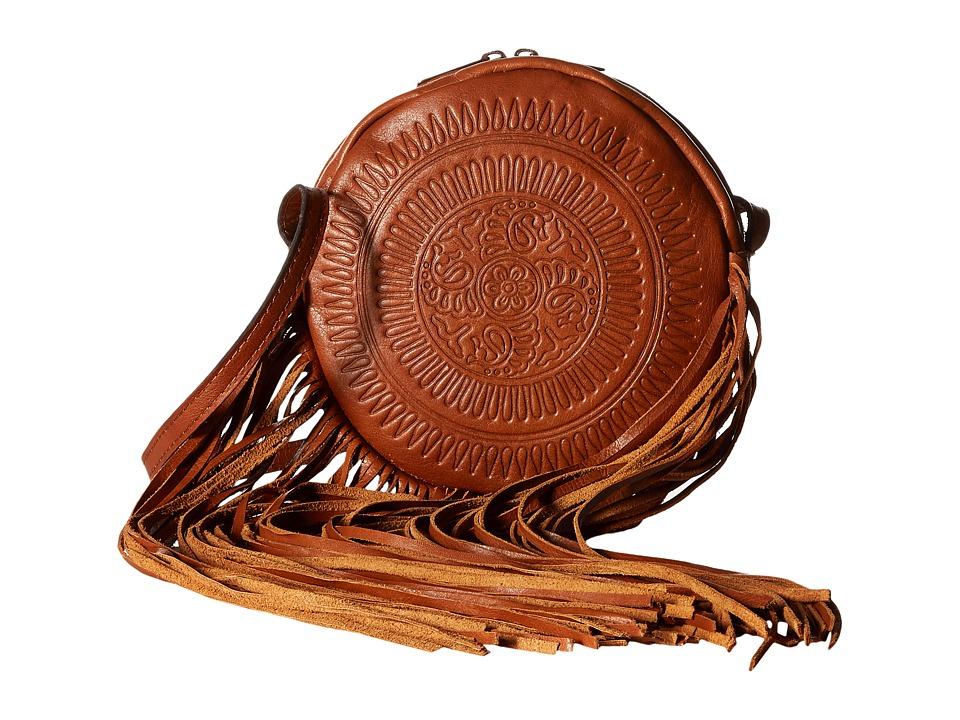 Patricia Nash - Rovito Crossbody (Tan) Cross Body Handbags
