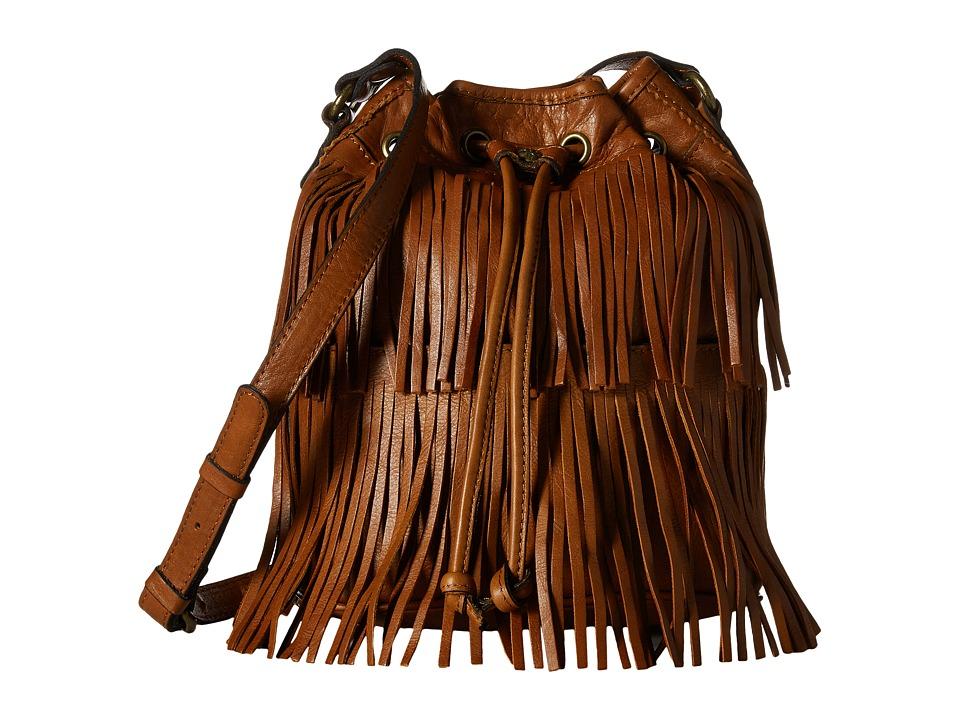 Patricia Nash - Bronte Bucket Bag (Tan) Handbags