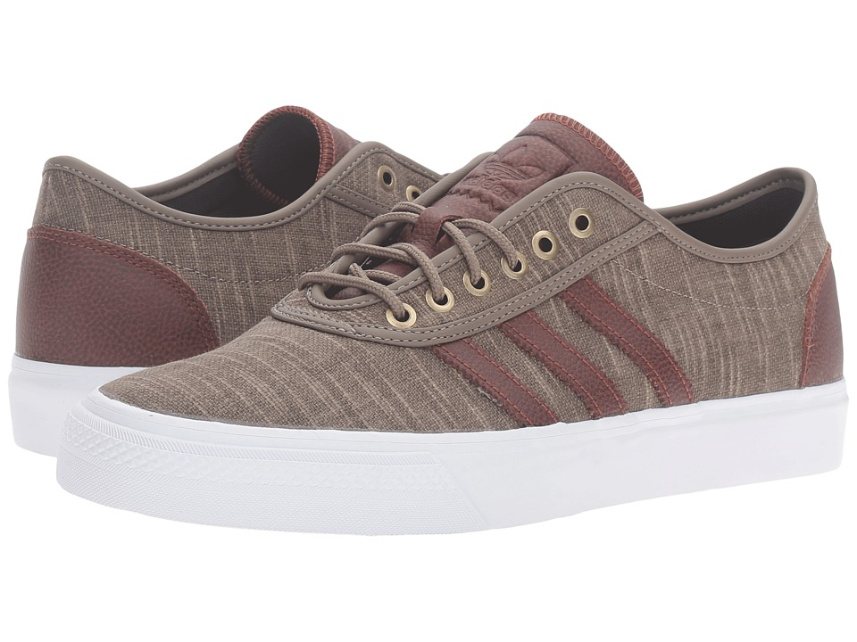 Image of adidas Skateboarding - Adi-Ease Classified (Simple Brown/Auburn/White) Men's Skate Shoes