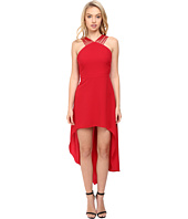 Halston Heritage - Multistrap High-Low Dress