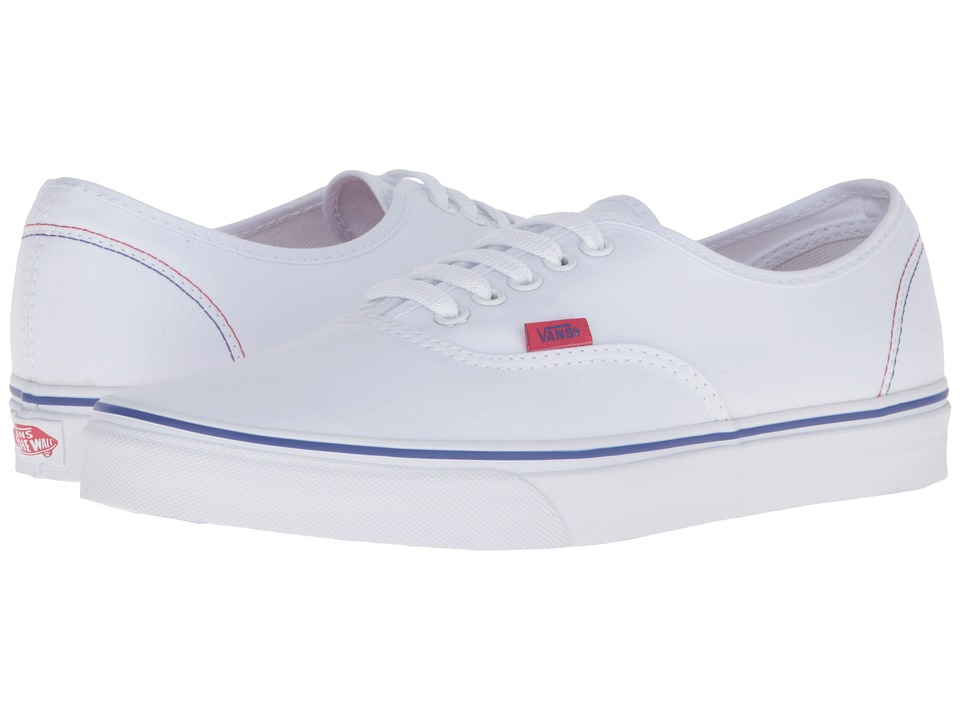 Authentic 2016 Games ((Summer 2016) True White/Red/Blue) Skate Shoes