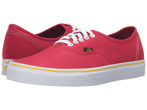 Vans Authentic 2016 Games - (Summer 2016) Red/Black/Gold
