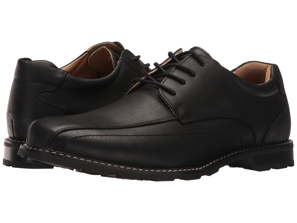 Hush Puppies - Waterproof Pender Spy ICE+ (Black Waterproof Leather) Men's Shoes