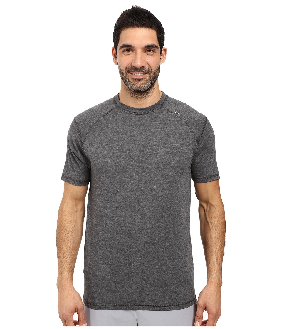 tasc Performance Carrollton Top (Black Heather) Men