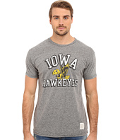 The Original Retro Brand - Short Sleeve Tri-Blend Iowa Hawkeye Tee