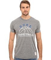 The Original Retro Brand - Short Sleeve Tri-Blend Duke Blue Devils Tee