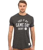 The Original Retro Brand - Short Sleeve Mock Twist This Is My Game Day Tee