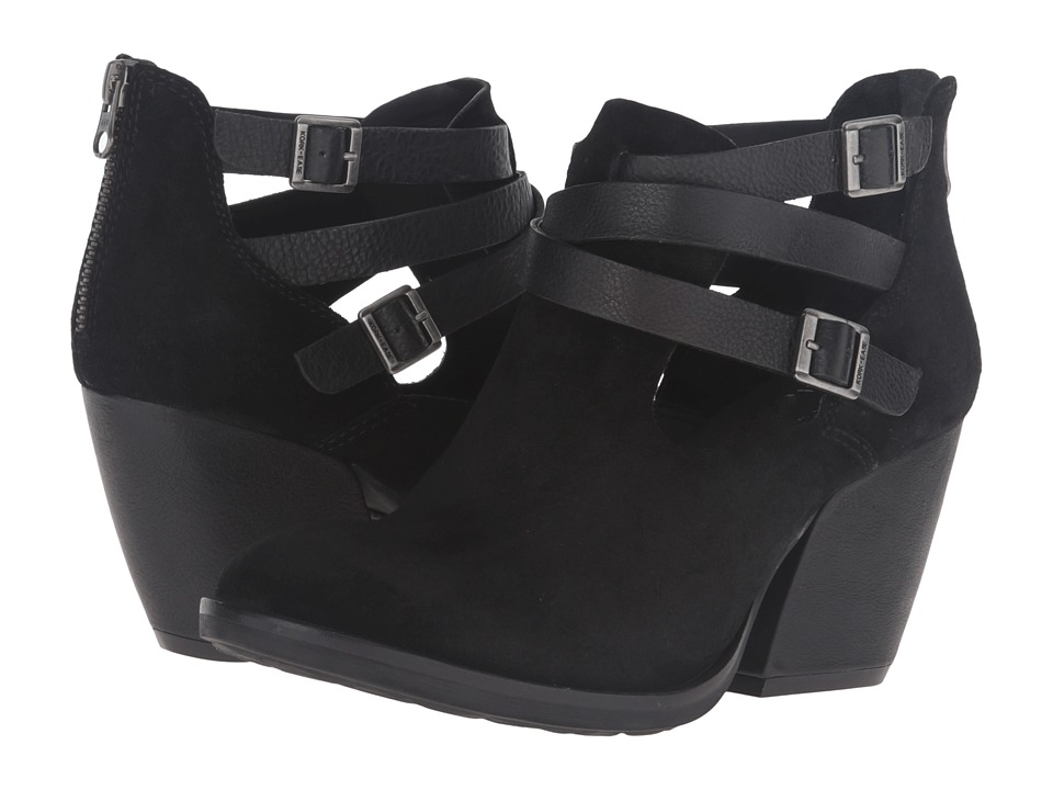 Kork-Ease Stina (Black/Black Combo) High Heels
