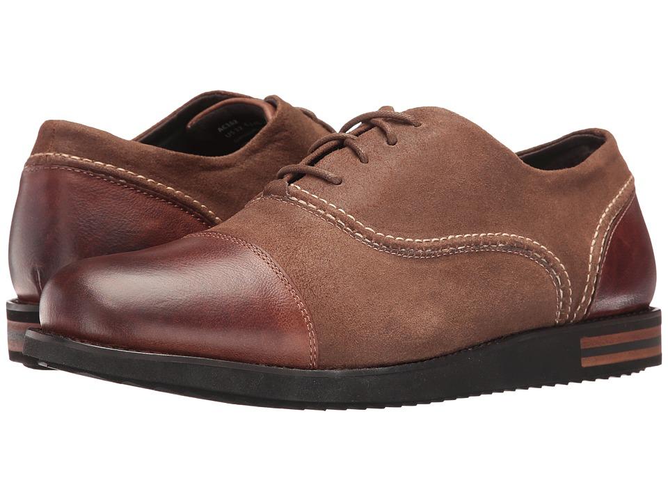 Aetrex - Jaden (Brown) Mens  Shoes