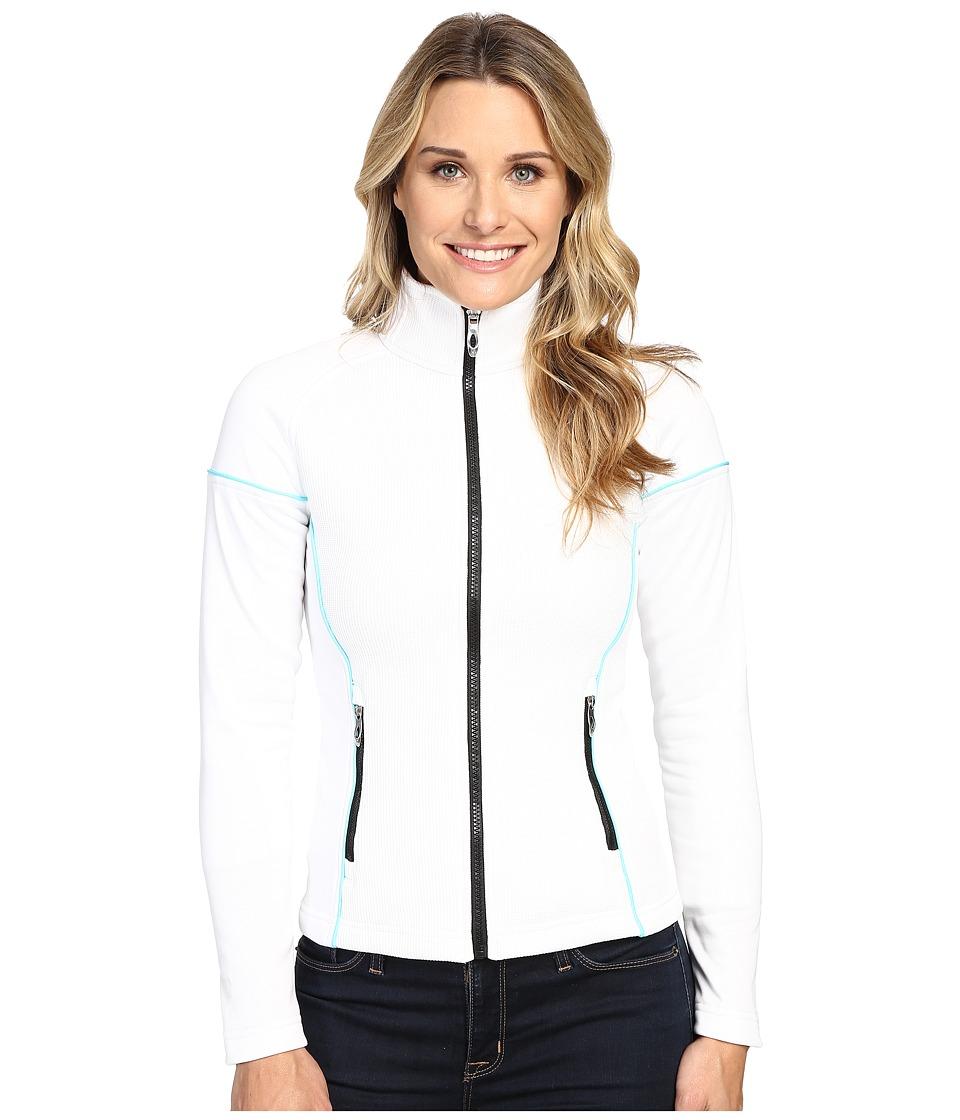 Spyder Premier Lightweight Core Sweater (White/Freeze) Women