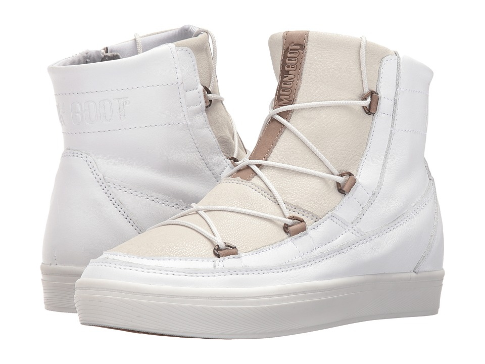Tecnica Moon Boot Vega Lux (White) Boots