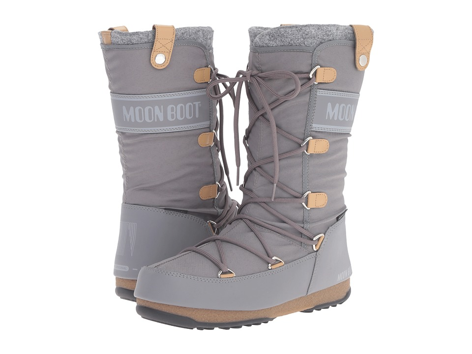 Tecnica Moon Boot Monaco Felt (Grey) Women