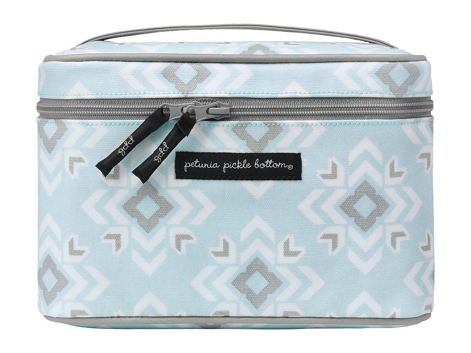 petunia pickle bottom - Glazed Travel Train Case (Sleepy San Sebastian) Wallet