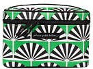 petunia pickle bottom Glazed Travel Train Case (Playful Palm Springs)