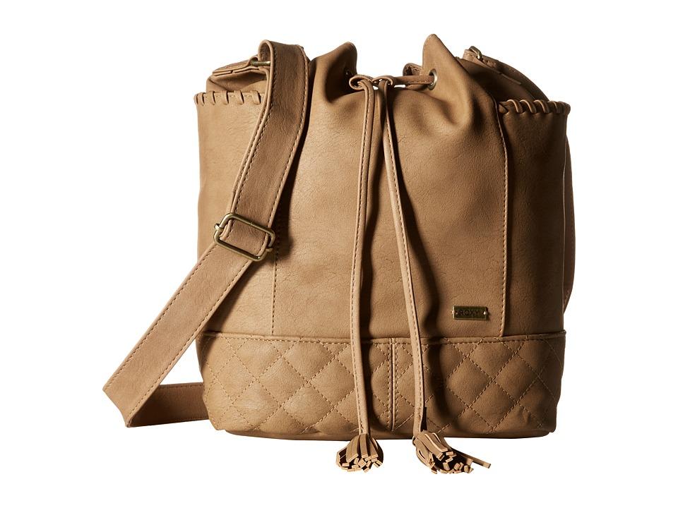 Roxy - Time For Dancing Crossbody Hangbag (Bone Brown) Cross Body Handbags